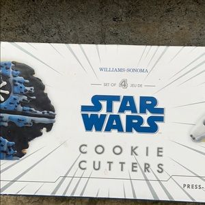Star Wars Cookie Cutters Williams Sonoma Set of 4